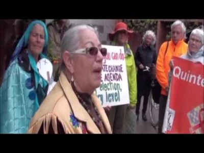 Video: QUINTE BIOSPHERE DEFENDERS Climate Change March 05-14-2016